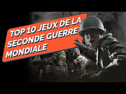 TOP 10 Des meilleurs jeux sur la seconde Guerre Mondiale !