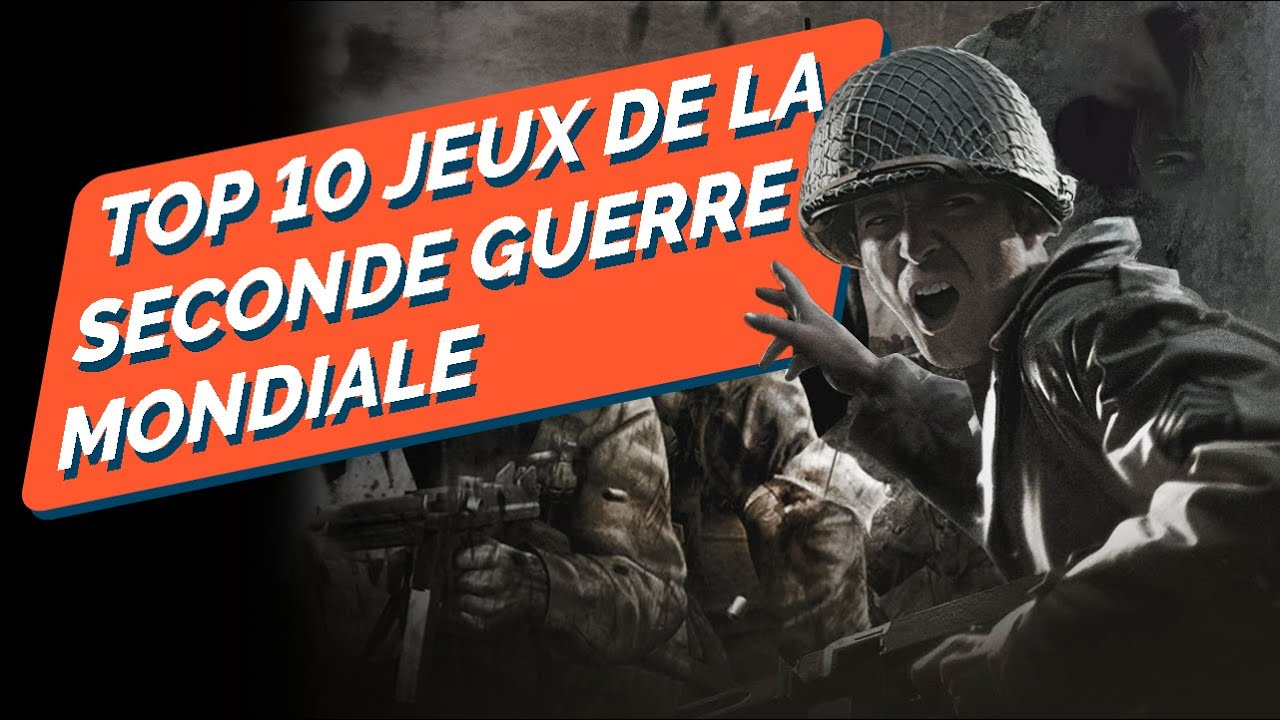 top 10 des meilleurs jeux sur la seconde guerre mondiale youtube. Black Bedroom Furniture Sets. Home Design Ideas