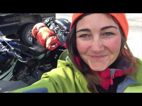 One Girl's Around the World Motorcycle Journey (so far!) streaming vf