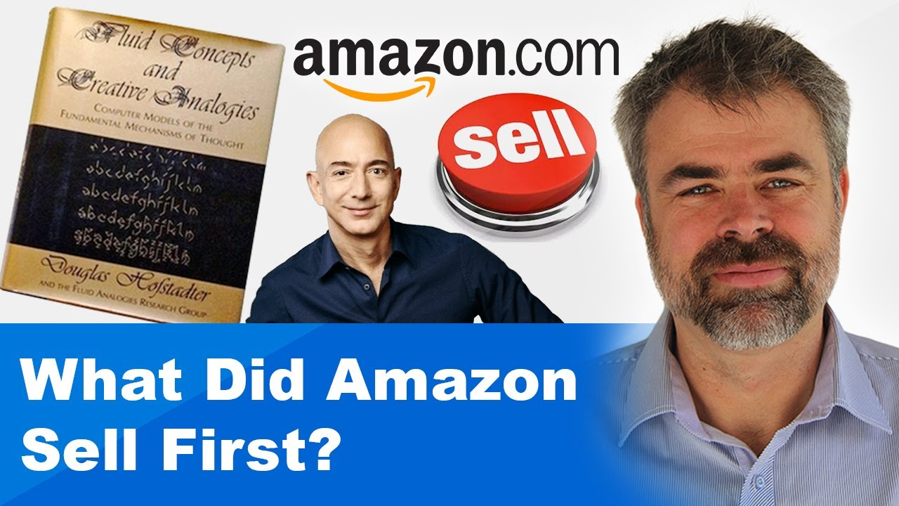 what did amazon sell first