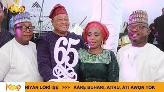 Colleagues  Family amp Friends Celebrates Prince Jide Kosoko 65th Special Birthday Birthday