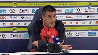Conf de presse Stade Malherbe avant Caen Metz
