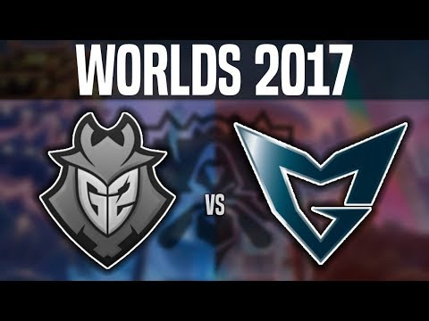 G2 vs SSG - Worlds 2017 Group Stage Day 1 - G2 Esports vs Samsung Galaxy | Worlds 2017