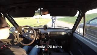 Skoda 120 turbo vs Focus ST 320 hp
