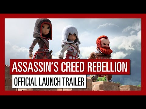 Assassin's Creed Rebellion - Official Launch Trailer | Ubisoft Mobile thumbnail