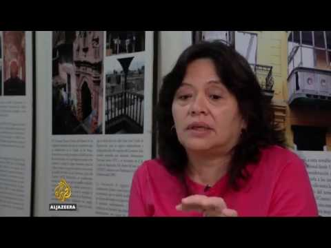 33084 gebäude Al Jazeera Historic centre of Peruvian capital in ruins