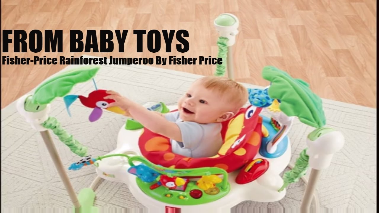 dd0cf18c380 Fisher-Price Rainforest Jumperoo By Fisher Price From Baby Toys