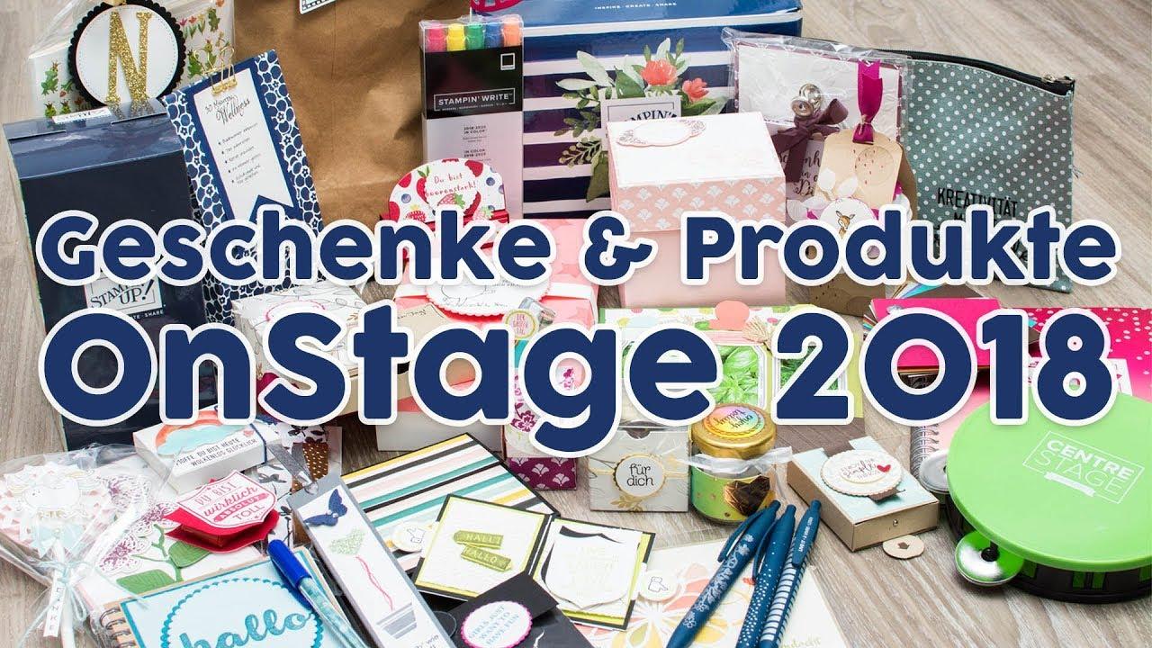 Geschenke und Infos von Stampin\' Up! OnStage 2018 aus Wiesbaden ...