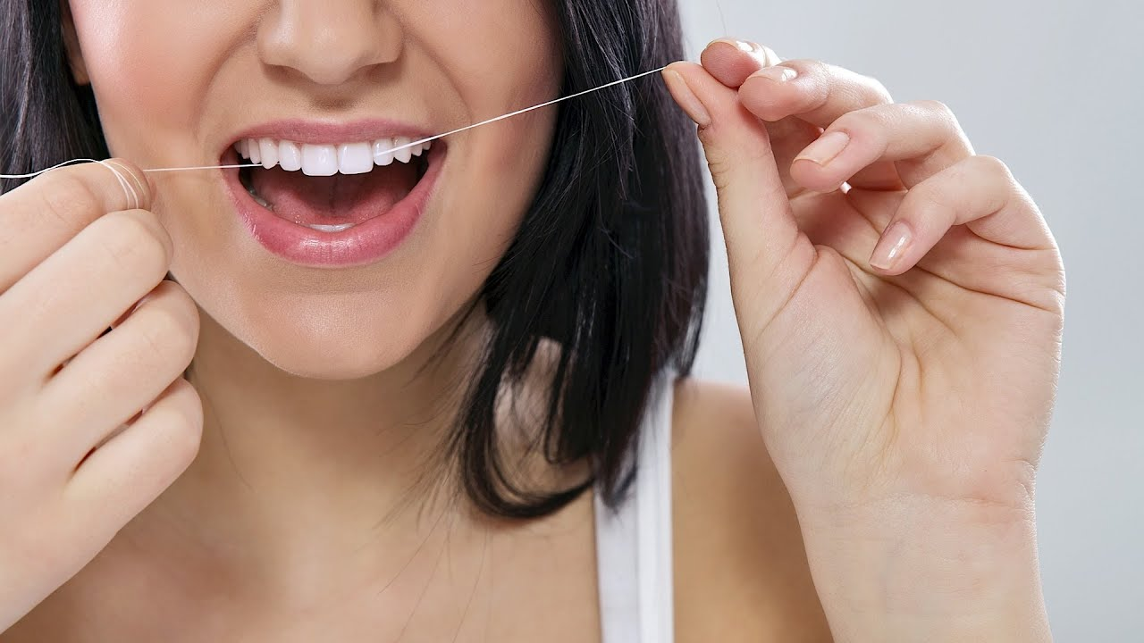 How to floss correctly tooth care youtube for What is flossing
