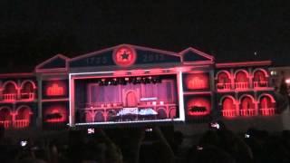 Лазерное шоу, Екатеринбург 2013.
