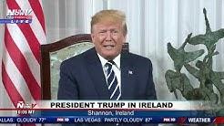 TRUMP IN IRELAND: President Trump Meets With Irish Prime Minister