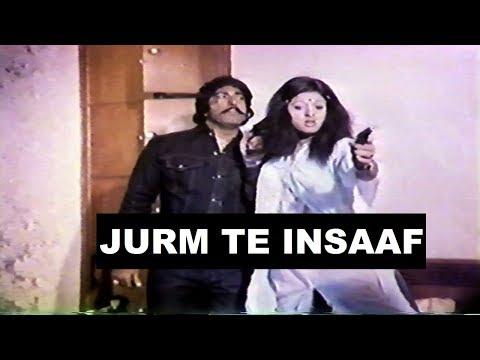 JURM TE INSAAF (1981) - YOUSAF KHAN, ALIYA, MUSTAFA QURESHI, MUSARAT SHAHEEN