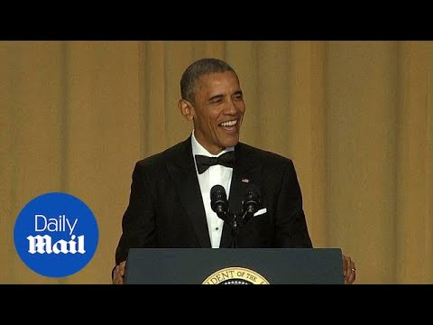 Obama obliterates Trump in White House Correspondents' Dinner - Daily Mail