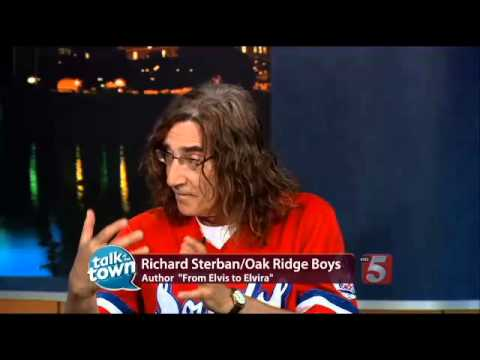 Richard Sterban from the Oak Ridge Boys on CBS Nashville's Talk of the Town