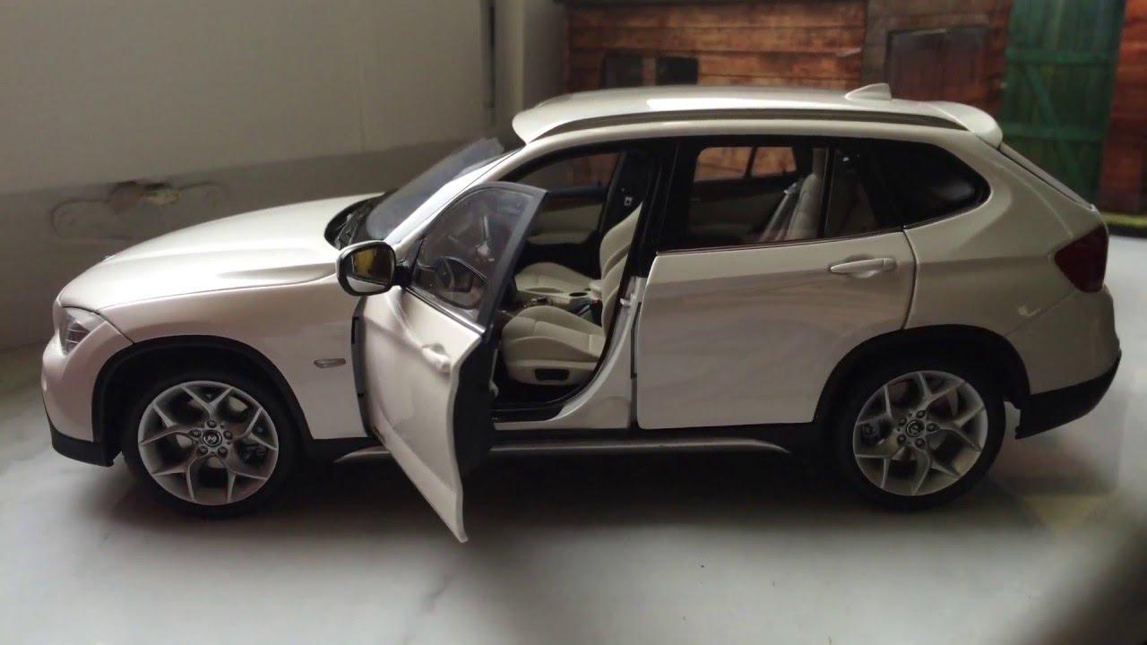 bmw x1 e84 kyosho 1 18 diecast model car youtube. Black Bedroom Furniture Sets. Home Design Ideas