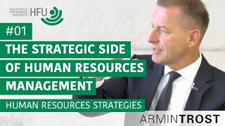 #01 The strategic Side of Human Resources Management