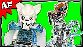 Lego Chima Sir Fangar's Ice Fortress 70147 Stop Motion Build Review