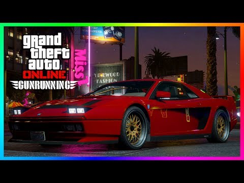 GTA ONLINE NEW DLC CONTENT SPENDING SPREE - GROTTI CHEETAH CLASSIC, NEW OVERTIME RUMBLE MODE & MORE!