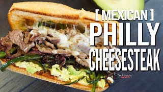 Mexican Philly Cheesesteak | SAM THE COOKING GUY
