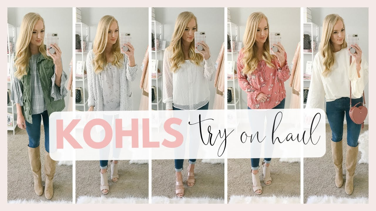 Kohls Try On Haul | Winter to Spring Transition Outfit Ideas 2019 | Amanda John 6