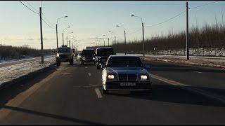 Фильм 'ВОЛК'. Mercedes w124 e500