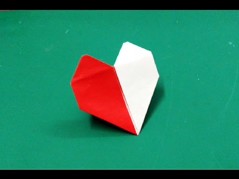 How To Make Origami Paper Heart 2 Origami Paper Folding Craft