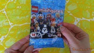 LASTENOHJELMIA SUOMEKSI - Lego Disney minifigures sarja 2 - osa 1