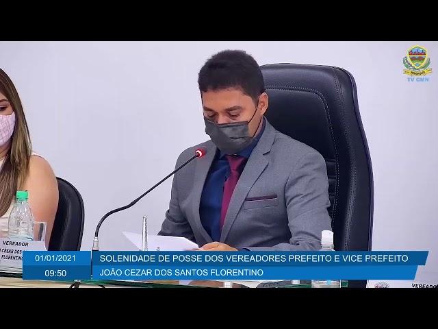 [AO VIVO] SOLENIDADE DE POSSE DOS VEREADORES PREFEITO E VICE PREFEITO DE NERÓPOLIS