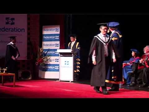 FedUni Graduation Ceremony - I.T.