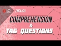 English - Comprehension and Tag Questions [SSC | HSC | Admission]