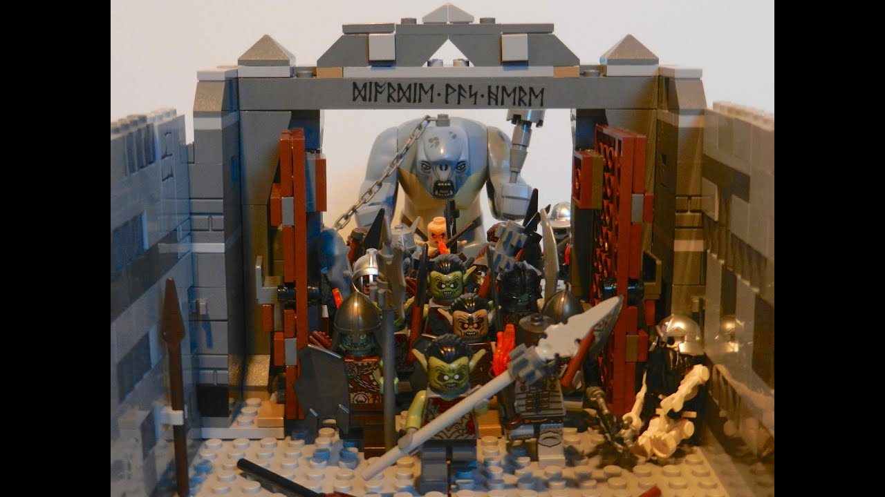 Lego Lord Of The Rings Moria