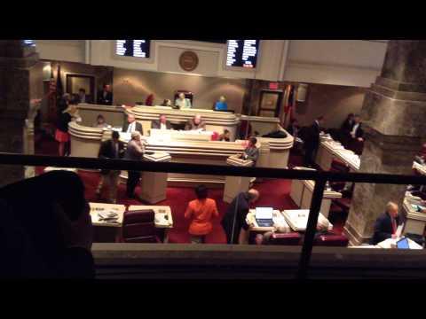 Alabama House of Representatives Debate on HB 527, Part 1