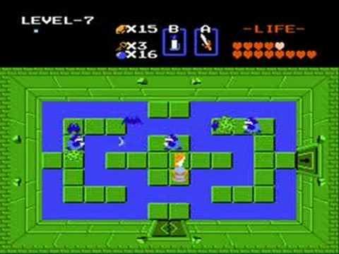 The Legend of Zelda - Level 7 1st Quest