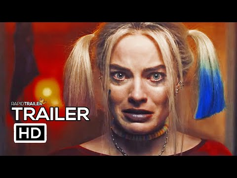 BIRDS OF PREY Official Trailer (2020) Margot Robbie, Harley Quinn DC Movie HD