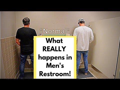 What Happens In The Men's Restroom?