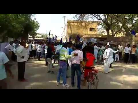 Gangapur city 2 April 2018   Bharat bandh  SC ST act  