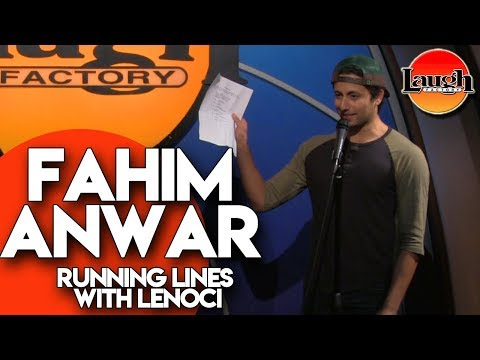 Running Lines with Lenoci  Fahim Anwar  Laugh Factory Comedy
