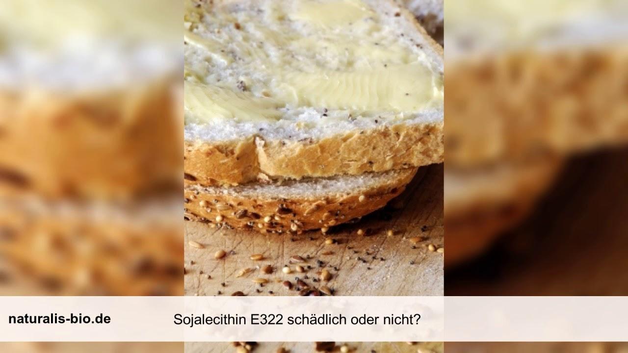 Sojalecithin E322 schädlich? Was ist Sojalecithin ...