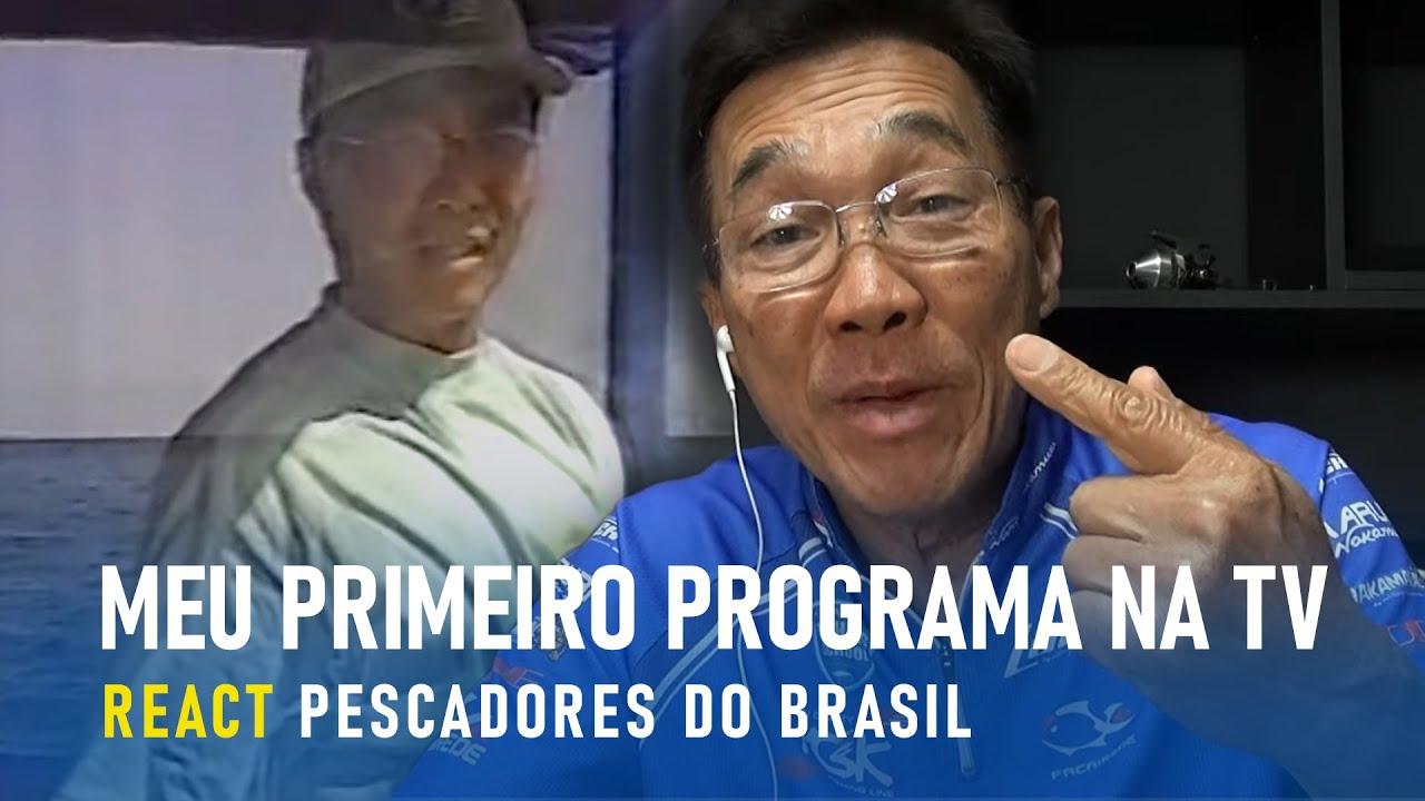 Meu primeiro e quase último programa na tv. REACT PESCADORES DO BRASIL