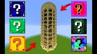 DÖNEN ŞANS BLOĞU KULESİ - Minecraft