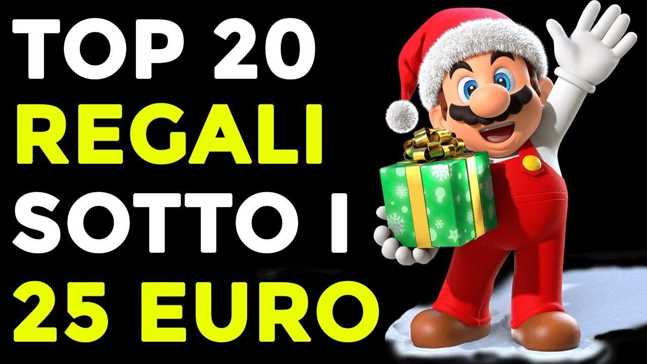 Regali Di Natale Da 20 Euro.Top 20 Regali Di Natale Sotto I 25 Euro Idee Regalo Per Chi Ama I Videogiochi