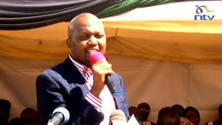 Ivy Wangeci burial: Moses Kuria's moving speech during slain student's burial