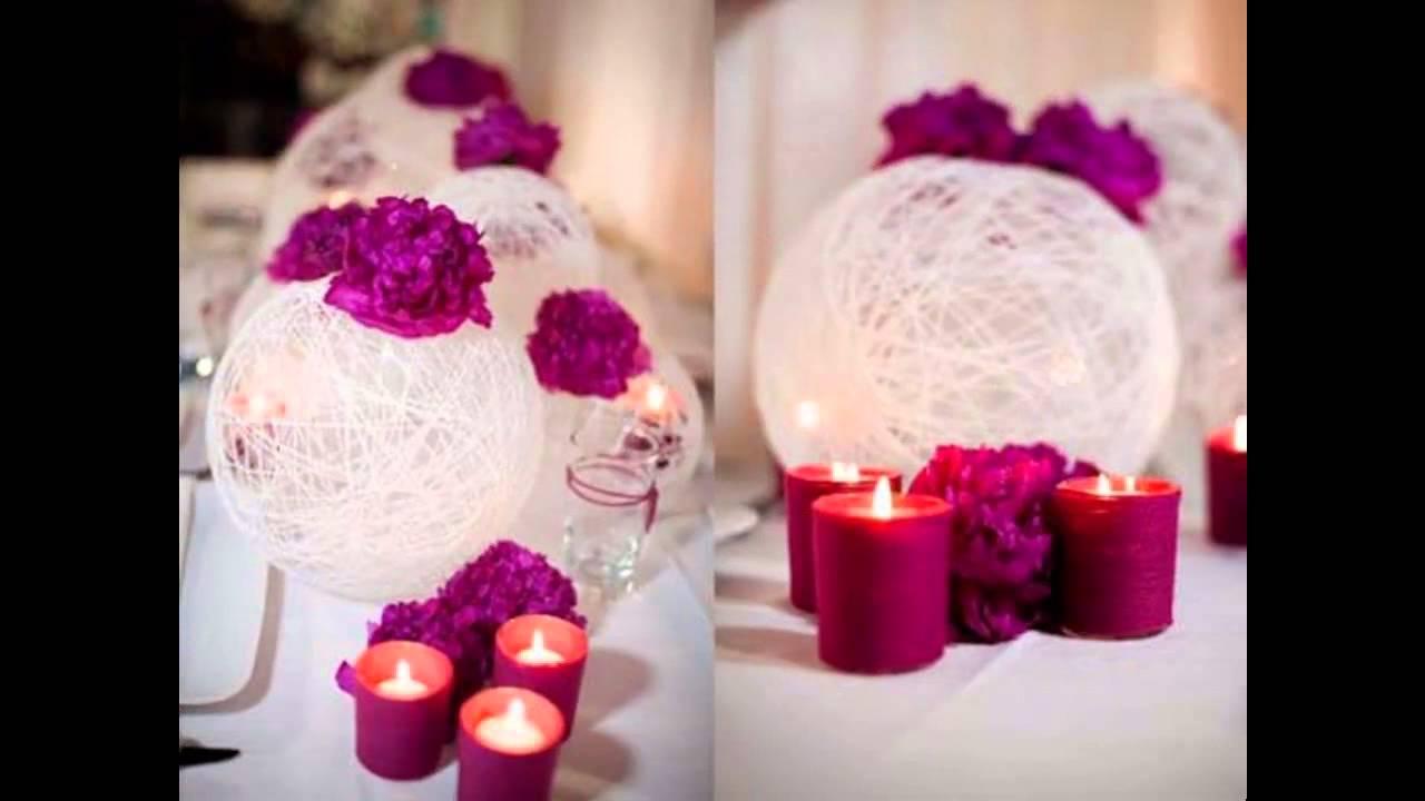 Easy Wedding table decoration YouTube