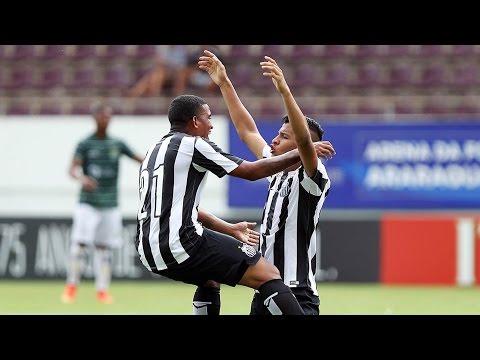 Santos 2 x 1 América (PE) | Copa SP 2016 (04/01/16)