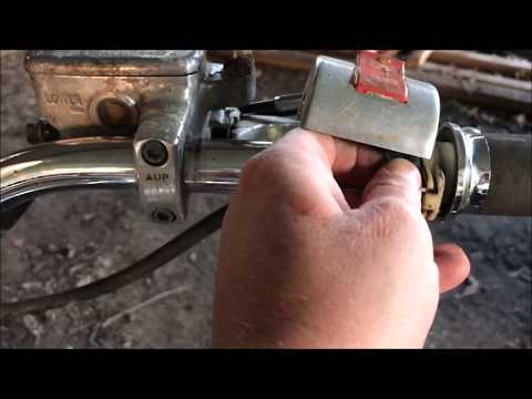 FAST - How to Remove Honda Shadow Throttle Cable