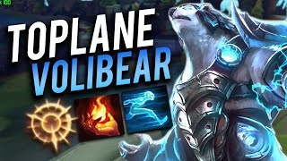 NEW VOLIBEAR TOPLANE IS TOO EASY!! - Trick2G