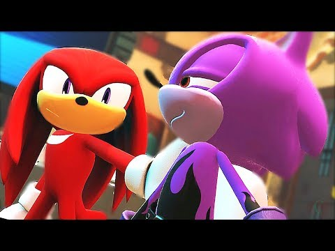 Sonic Forces Full Movie HD - All Cutscenes As Coldsteel The Hedgeheg The Movie (60FPS) English