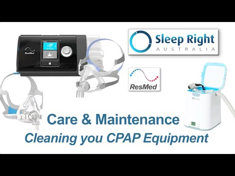 How to clean and maintain your CPAP equipment