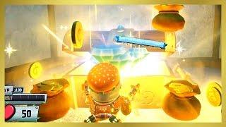 Secret Hidden Treasure Chest Room! 70,000 FREE COINS! (Plants Vs Zombies Garden Warfare 2)