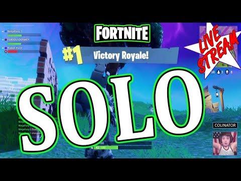 Fortnite Streaming Solo 101+ Wins